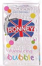 Parfumuri și produse cosmetice Set elastice de păr - Ronney Professional Funny Ring Bubble 10