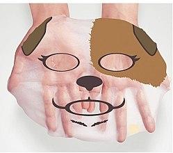 "Mască folie anti-rid ""Dog"" - Bioaqua Animal Dog Addict Mask — Imagine N3"