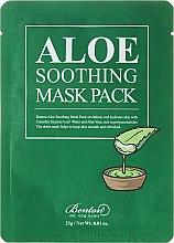 Parfumuri și produse cosmetice Mască hidratantă pentru față - Benton Aloe Soothing Mask Pack