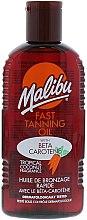 Parfumuri și produse cosmetice Ulei pentru bronz rapid - Malibu Fast Tanning Oil with Carotene