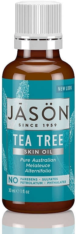 Ulei de arbore de ceai - Jason Natural Cosmetics Organic Oil Purifying Tea Tree — Imagine N1