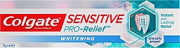 Parfumuri și produse cosmetice Pasta de dinți pentru albire - Colgate Snsitive Pro-Relief Whitening Toothpaste
