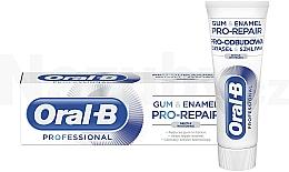 Parfumuri și produse cosmetice Pastă de dinți - Oral-B Professional Gum & Enamel Pro-Repair Gentle Whitening