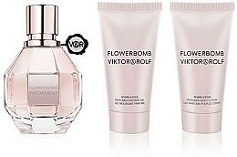 Parfumuri și produse cosmetice Viktor & Rolf Flowerbomb - Set (edp/50ml + sh/gel/50ml + b/lot/50ml)