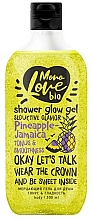 "Parfumuri și produse cosmetice Gel de duș ""Tonus și netezime"" - MonoLove Bio Pineapple-Jamaica Tonus&Smoothness"