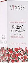 Parfumuri și produse cosmetice Cremă antirid de zi pentru pielea grasă - Vianek