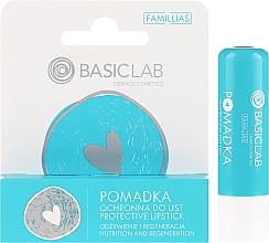 Parfumuri și produse cosmetice Ruj protector de buze - BasicLab Dermocosmetics Famillias
