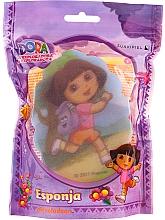 """Parfumuri și produse cosmetice Burete de baie pentru copii """"Dora"""", 169-13, roz - Suavipiel Dora Bath Sponge"""