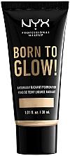 Parfumuri și produse cosmetice Fond de ten - NYX Professional Makeup Born To Glow