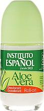 Parfumuri și produse cosmetice Deodorant Roll On - Instituto Espanol Aloe Vera Roll-on Deodorant