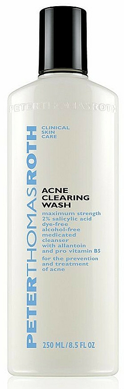 Gel anti-acnee de curățare pentru față - Peter Thomas Roth Acne-Clear Wash — Imagine N2
