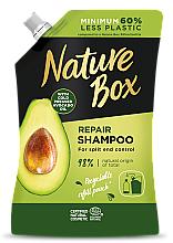 Parfumuri și produse cosmetice Șampon cu ulei de avocado - Nature Box Avocado Oil Shampoo Refill Pack (rezervă)