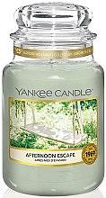 Parfumuri și produse cosmetice Lumânare aromatică în borcan - Yankee Candle Afternoon Escape