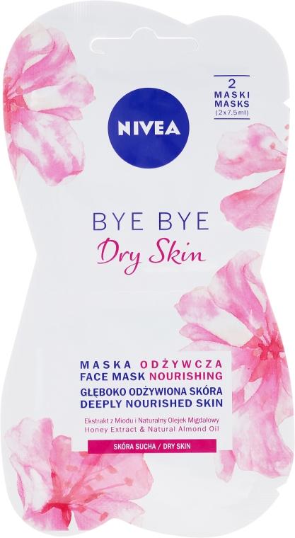Mască nutritivă pentru pielea uscată a feței - Nivea Bye Bye Dry Skin