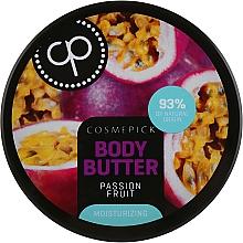 Parfumuri și produse cosmetice Unt hidratant cu extract de fructul pasiunii pentru corp - Cosmepick Body Butter Passion Fruit