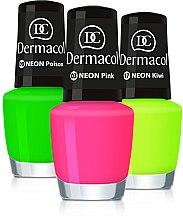 Parfumuri și produse cosmetice Lac de unghii - Dermacol Neon Nail Polish