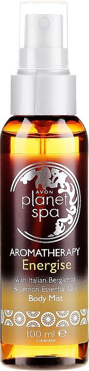 Spray cu bergamotă și lămâie pentru păr - Avon Aromatherapy Energise Body Mist