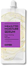 Parfumuri și produse cosmetice Ser hidratant cu unt de shea pentru față - SNP Mini Shea Butter Moisture Serum (mini)