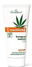 Parfumuri și produse cosmetice Gel cu efect de răcire pentru masaj corporal - Cannaderm Mentholka