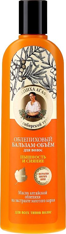 """Balsam de păr """"Volum, splendoare și strălucire"""" - Reţete bunicii Agafia"""