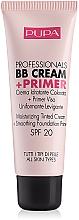 Parfumuri și produse cosmetice Fond de ten - Pupa Profesional bb Cream + Primer Tone-Cream