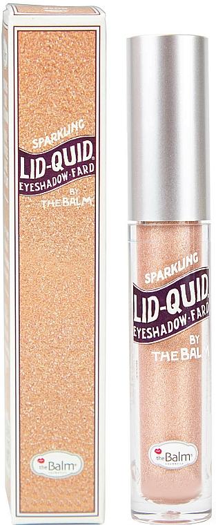 Fard lichid strălucitor pentru pleoape - TheBalm Lid Quid Sparkling Liquid Eyeshadow (tester)