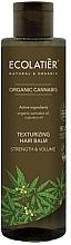 """Parfumuri și produse cosmetice Balsam de păr """"Cânepă organică"""" - Ecolatier Organic Cannabis Texturizing Hair Balm"""