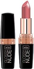 Parfumuri și produse cosmetice Ruj de buze - Wibo Glossy Nude Lipstick