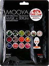 """Parfumuri și produse cosmetice Mască + ser """"Proteine de mătase pentru regenerarea mâinilor"""" - Beauty Face Mooya Bio Organic Treatment Mask + Serum"""