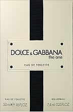 Parfumuri și produse cosmetice Dolce&Gabbana The One - Set (edt/50ml + edt/7.4ml)