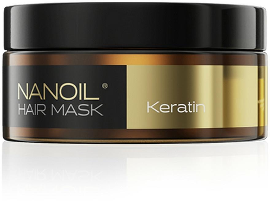 Mască pe bază de cheratină pentru păr - Nanoil Keratin Hair Mask