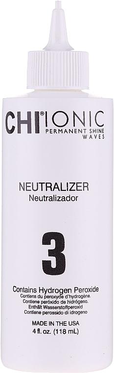 Soluție pentru ondularea chimică a părului, compoziția 1 - CHI Ionic Permanent Shine Waves Selection 1 — Imagine N4