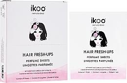 Parfumuri și produse cosmetice Șervețele parfumate pentru păr - Ikoo Infusions Hair Fresh-Ups Parfume Sheets