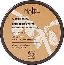 """Parfumuri și produse cosmetice Unt organic de Shea """"Cacao"""" - Najel"""