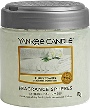 Parfumuri și produse cosmetice Bile parfumate - Yankee Candle Fluffy Towels Fragrance Spheres