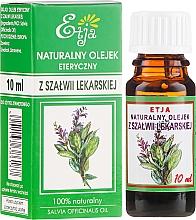 Parfumuri și produse cosmetice Ulei esențial de salvie - Etja Natural Essential Oil