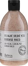 Parfumuri și produse cosmetice Lapte de duș - Sefiros Body Peeling Cleansing Milk Bourbon Vanilla