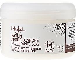 """Parfumuri și produse cosmetice Argilă cosmetică """"Albă"""" - Najel Clay In Powder White"""