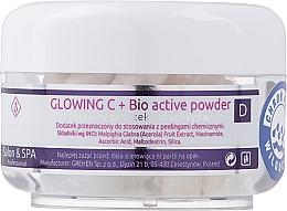 Parfumuri și produse cosmetice Pulbere bioactivă cu efect iluminant pentru față - Charmine Rose Glowing C+ Bio Active Powder