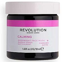 Parfumuri și produse cosmetice Mască de față - Revolution Skincare Stressed Mood Calming Night Face Mask