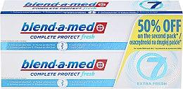 """Parfumuri și produse cosmetice Set Pastă de dinți """"Complex 7"""" - Blend-A-Med Complete 7 Extra Fresh"""