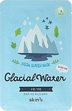 Masca folie de față - Skin79 Fresh Garden Mask Glacial Water — Imagine N1