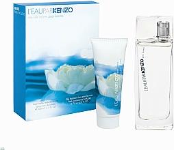 Parfumuri și produse cosmetice Kenzo L'Eau Par Kenzo pour Femme - Set (edt/100ml + b/gel/75ml)