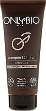 Parfumuri și produse cosmetice Șampon-Gel de duș pentru bărbați - Only Bio