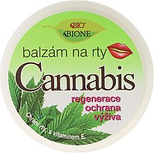 Parfumuri și produse cosmetice Balsam de buze - Bione Cosmetics Cannabis Lip Balm with UV Filter and Vitamin E