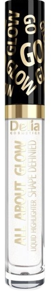 Iluminator lichid - Delia All About Glow Shape Defined Liquid Highlighter