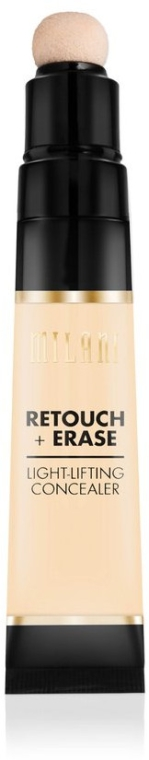 Concealer împotriva cercurilor întunecate din jurul ochilor - Milani Retouch Erase Light-Lifting Concealer