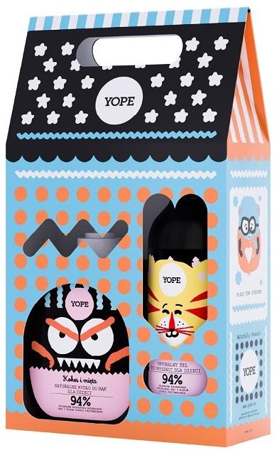 Set cadou pentru copii - Yope Kids Gift Set (h/soap/400ml + sh/gel/400ml) — Imagine N1