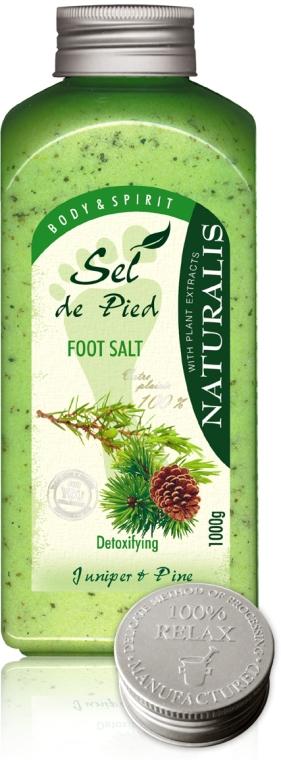 Sare de baie pentru picioare - Naturalis Sel de Pied Juniper And Pine Foot Salt