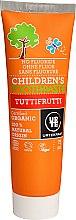 """Parfumuri și produse cosmetice Pastă de dinți pentru copii """"Tutti Frutti"""" - Urtekram Childrens Toothpaste Tuttifrutti"""